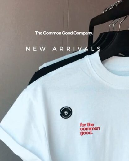 recycled cotton t-shirts